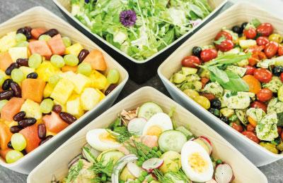 Catering-palvelut, juhlat ja tilaisuudet: salaatit